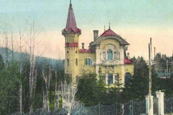 Stodolova vila v Liptovskom Mikuláši.