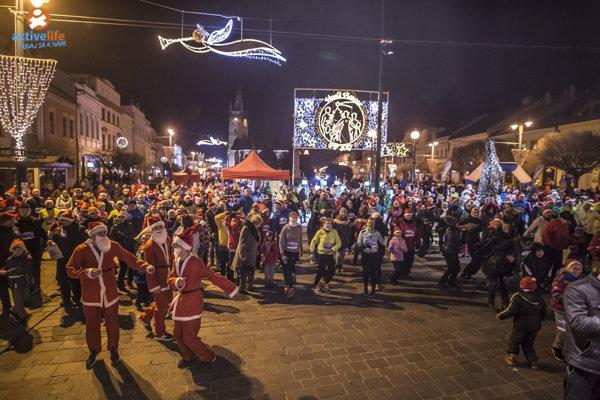 Mikulášsky beh v centre Prešova bude v nedeľu.