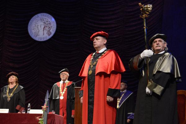 Rektor Prešovskej univerzity Peter Kónya.
