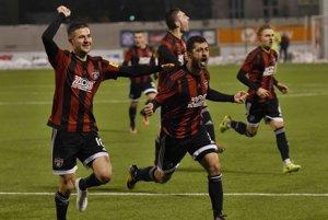Hráči Trnavy sa tešili z víťazstva nad Nitrou v dohrávke 18. kola Fortuna ligy.