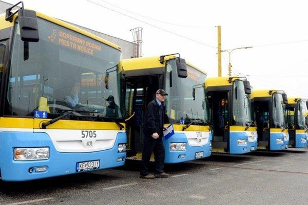 Na košických cestách budú čoskoro jazdiť ďalšie nové autobusy.