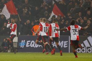 Feyenoord dokázal doma triumfovať.