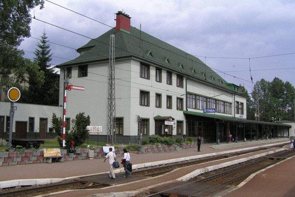 K nehode došlo na stanici v Štrbe.