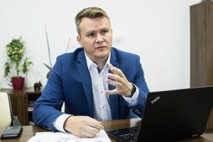 Predseda predstavenstva Bratislavskej integrovanej dopravy Marián Rovenský