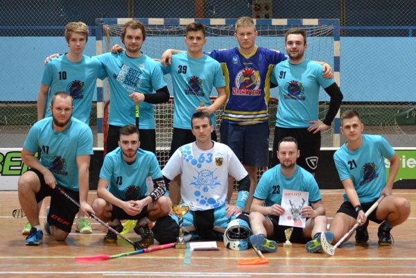 Dream Team, víťaz Vianočného turnaja vo florbale.