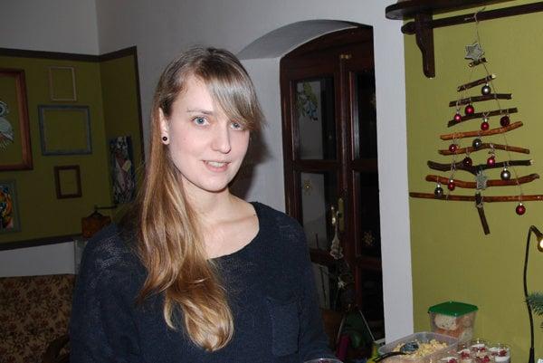 Vegánka Barbora Mišáková.