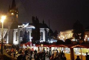 Vianočné trhy v Prešove.
