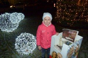 Jedna z najmladších účastníčok - Laura.