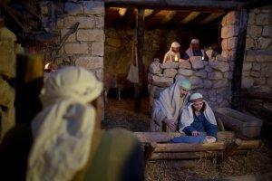 Betlehem v izraelskom Nazarete, meste, kde Ježiš Kristus strávil detstvo.
