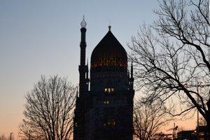 Mešita vo Viedni.
