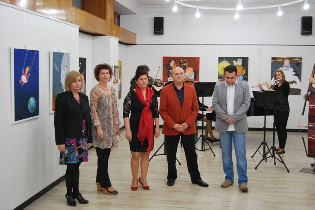 Vernisáž výstavy Vlada Pavlíka.