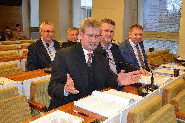 Poslanec Ján Čop (KDH) dal jediný pozmeňujúci návrh.