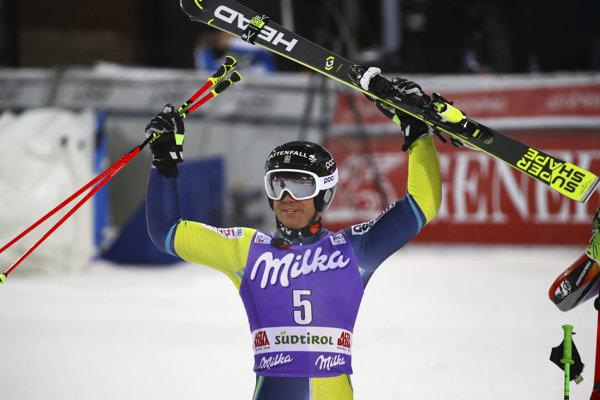 Matts Olsson sa raduje z víťazstva.