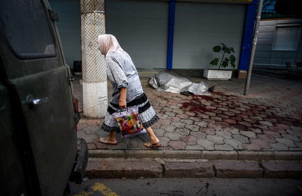Pred násilím ušli desaťtisíce ľudí