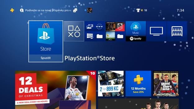 S účtom na PlayStation Network si v PlayStation Store môžete sťahovať platený aj bezplatný obsah.