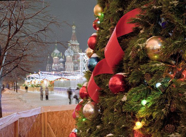 V Rusku sa slávia hlavne Pravoslávne Vianoce.