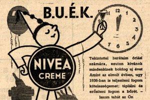 Novoročné prianie - Nivea.