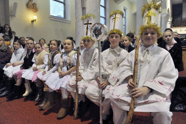 Jasličková pobožnosť sa v Terchovej koná už 42 rokov.