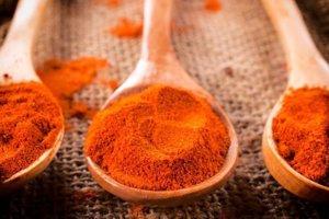 Červená paprika.