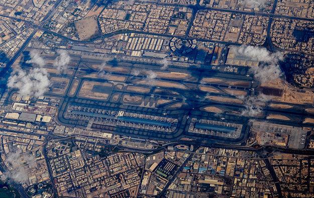 Dubaj je najväčšou svetovou leteckou križovatkou.