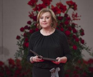 Riaditeľka Ligy proti rakovine Eva Kováčová si prebrala štátne vyznamenanie Pribinov kríž II. triedy.