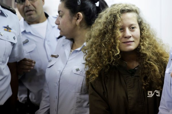 Palestínčania vnímajú Ahid Tamímíovú ako ikonu ich boja proti Izraelu.