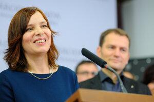 Líderka kandidátky OĽaNO-Nova Veronika Remišová.