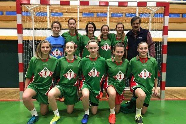Družstvo ŠKF VIX Žilina obsadilo tretiu priečku.