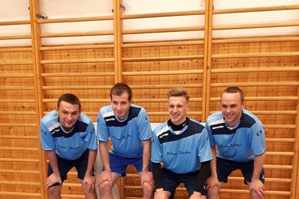 Víťazné družstvo Belasej Šľachty.