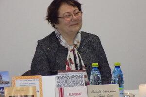 Poetka Marta Šimo-Svrčeková.