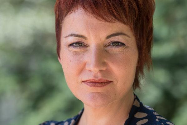 Laura Dittel. Riaditeľka Karpatskej nadácie je s výsledkami projektu spokojná.