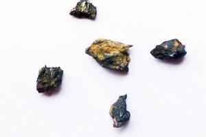 Úlomky kameňa Hypatia našli na juhozápade Egypta v roku 1996.