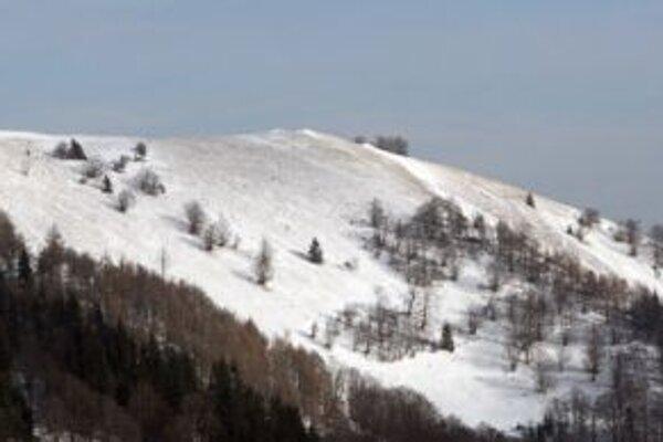 Vysoko v horách dnes môže nasnežiť