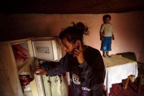 Zo série fotografií denníka Sme, ktorý mapoval život Rómov na východnom Slovensku.