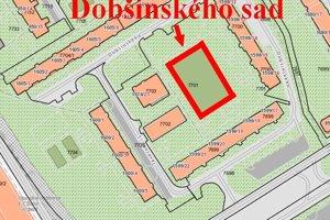 Na sídlisku Vlčince vznikol Dobšinského sad.
