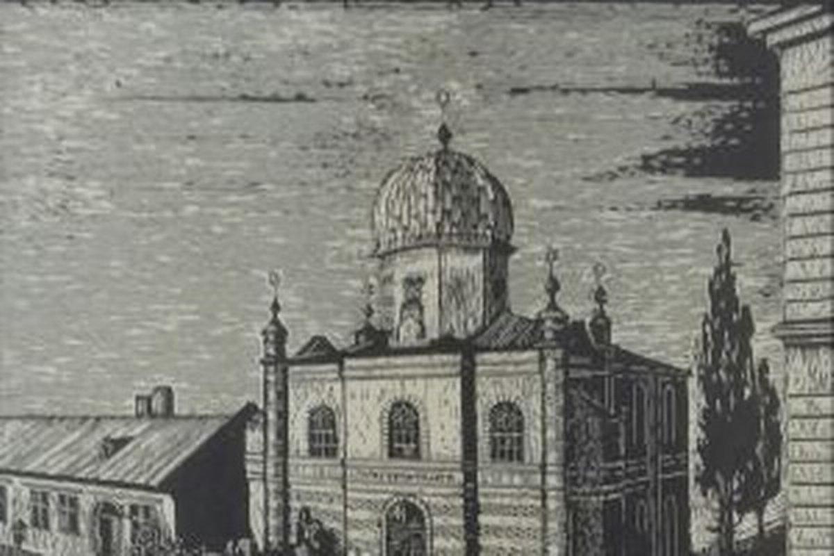 Bildergebnis für brezno synagoga