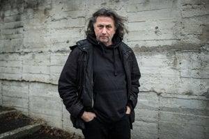 Moderátor Pavol Fejér.