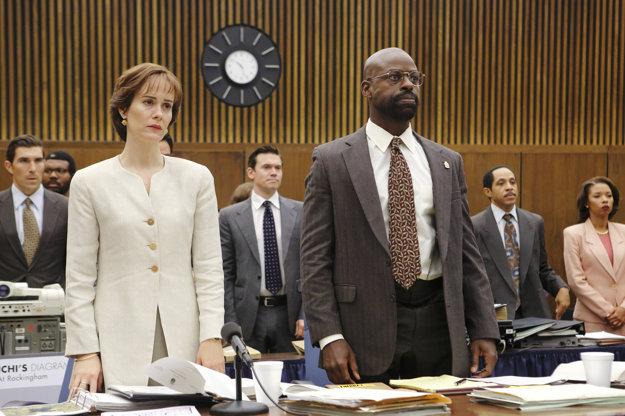 Herečka stvárnila Marciu Clark v seriáli American Crime Story.