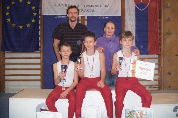 Úspešní medailisti.