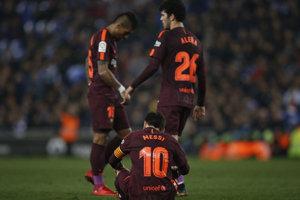 Lionel Messi opäť nepremenil penaltu.