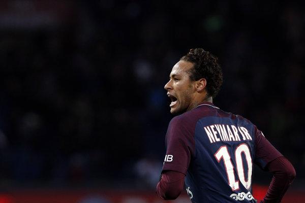 Neymar sa opäť ocitol v kontroverznej situácii.