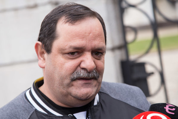 Predseda občianskeho združenia (OZ) Únia Rómov na Slovensku František Tanko.