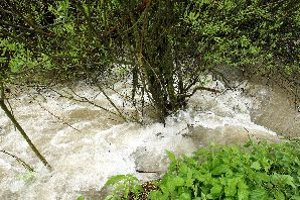Potoky sú v týchto dňoch rozvodnené, hazardovať sa neoplatí.