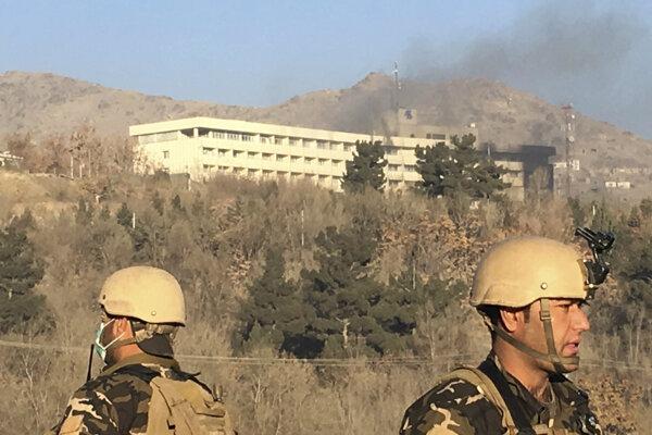 Na Intercontinental Hotel v Kábule zaútočili neznámi ozbrojenci.