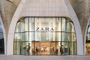 Obchod značky Zara v Bruseli