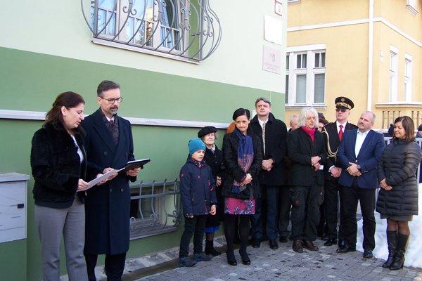 Na Mudroňovej ulici v Martine dnes otvorili Konzulát Srbskej republiky v Martine.