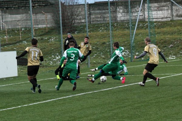 Záber zprípravného zápasu Budaőrsi SC (HU, II. liga) – FKM NOVÉ ZÁMKY 3:1