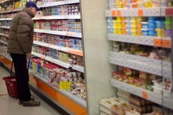 Za nákup potravín platíme najviac
