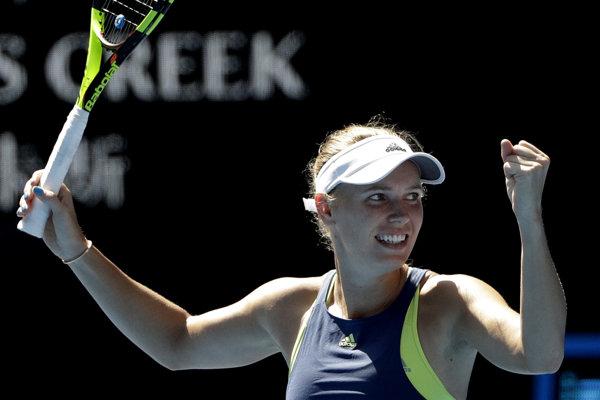 Caroline Wozniacka si zahrá v treťom grandslamovom finále v kariére.