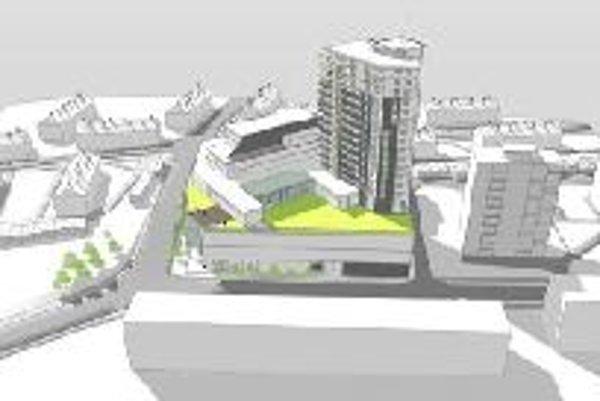 Budova nového Úsvitu by mala byť nižšia, než plánoval investor. Ten sa zatiaľ nevyjadril.